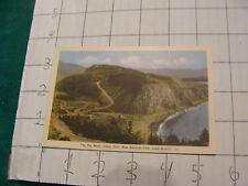 Vintage Postcard: CAPE BRETON, cabot trail, THE RIG WASH, new national park