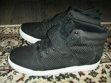 Android Homme Black Leather Hi Top Shoe Mens Size 11