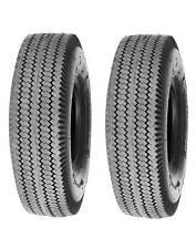 Paquete De 2, Deli Tire 4.10/3.50-6, diente de sierra, 4 capas, tubeless, neumáticos de jardín de césped