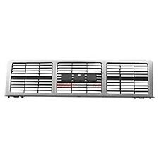Front Grille Silver Fits 1985-1988 GMC C1500 K2500 15554913
