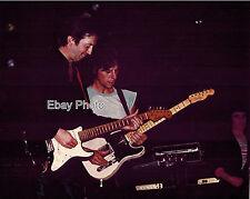 "Arms Concert - Jeff Beck & Eric Clapton + Bill Wyman (background) - 8"" x 10"""
