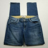 Paige Jimmy Skinny Jeans Womens Size 27 Blue Medium Wash Stretch Denim Mid Rise