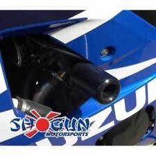 Suzuki 2004-2005 GSXR600 GSXR 600 Shogun Frame Sliders NO CUT Version Black