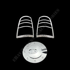Dodge Ram 1500 2009~17 &2500/3500 10-16 Chrome Tail lights Gas Cap Covers