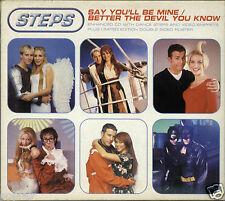 STEPS - SAY YOU'LL BE MINE 1999 EU ENHANCED DIGIPAK - NO POSTER CLAIRE FAYE LISA