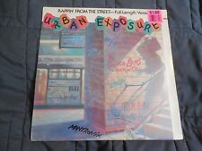 Urban Exposure LP Rappin From The Street Run DMC Schooly D Whodini  SEALED