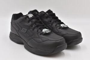 Men's Skechers For Work Relaxed Fit Felton Sneakers, Black, 11 Wide