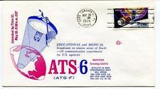 1974 Titan 3C ATS-6 ATS-F Educational Medical Technology Satellite Canaveral SAT
