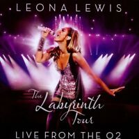 "LEONA LEWIS ""THE LABYRINTH TOUR LIVE..."" CD+DVD NEW+"