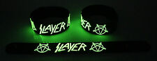 SLAYER NEW! Glow in the Dark Rubber Bracelet Wristband Raining Blood gg109