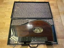Zitter Zither Musikinstrument Antiquität Sehr Alt