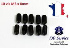 V2A ISK Lot de 10 vis /à t/ête frais/ée /à six pans creux DIN 7991 // ISO 10642 en acier inoxydable A2