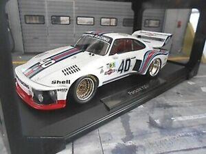 PORSCHE 935 Turbo Le Mans 1976 #40 Stommelen Mass Martini Racing Norev NEU 1:18