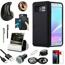 Black Pocket Case Cover Wireless Earphone Accessory For Samsung Galaxy S7 G930
