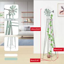 4.9ft Metal Ornamental Decorative Garden Yard Lawn Windmill Weather Vane