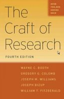 Craft of Research, Paperback by Booth, Wayne C.; Colomb, Gregory G.; Williams...