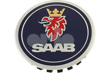 SAAB 95 9-5 650 10-11MY ALLOY WHEEL CENTRE CAP BADGE 9597488 NEW GENUINE RARE