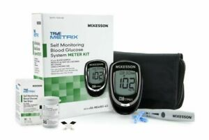 Blood Glucose Meter McKesson TRUE METRIX® 10 Test Strips+Case+Fast Free shipping