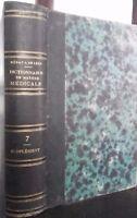 Dizionario Di Materiale Medico F. V. Mérat 1846 Parigi Baillière Volume 7 ABE