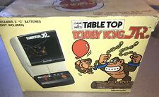 1983 COLECO NINTENDO ARCADE TABLETOP GAME DONKEY KONG JR In Solid Box