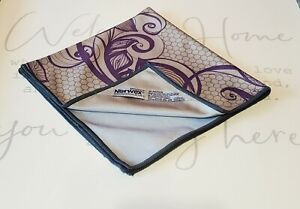 NORWEX Purple AMETHYST LACE WINDOW CLOTH LIMITED EDITION!!!!  Brand new