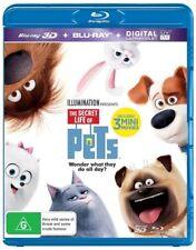 The Secret Life Of Pets (3D) Blu-Ray Region B