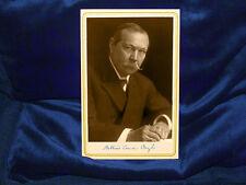 Sherlock Holmes Creator Sir Arthur Conan Doyle Cabinet Card Photograph