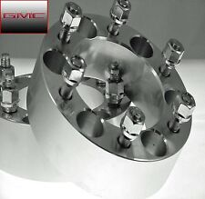 2pc GMC CANYON 6 Lug Wheel Spacers Adapters 1.25 Inch With Lugs # AP-6550B1215