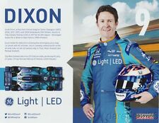2017 Scott Dixon GE Light LED Honda Dallara Indy Car postcard