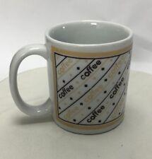 Houston Foods 1990 Mug With The Word Coffee 10 Oz  A6