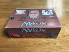 MTG Magic The Gathering Unlimited Booster Box! VIDE - EMPTY A piece of History!!