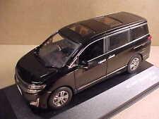 JCOLLECTION #JC208 1/43 Diecast 2010 Nissan Elgrand Third Gen. E-52 Van, Black