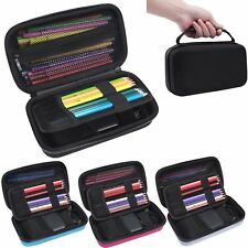 3 x PENCIL BOX CASES LONDON TUBE MAGIC TRICK STATIONERY STORAGE HARD COLOR