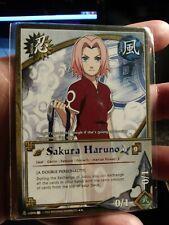 Naruto CCG Sakura Haruno us006 RARE (alt art)