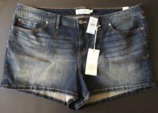 ~NWT~Women's Torrid Denim Shorts Size 24