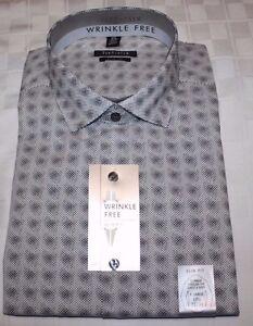 Van Heusen Slim Fit Men's Dress Shirt LS NWT Variety of Sizes, Style & Colors