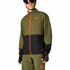 Fox Racing MTB 2021 Ranger Wind Jacket Olive Green