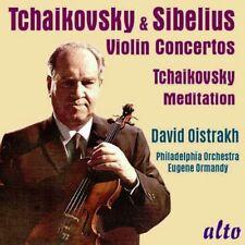CD TCHAIKOVSKY & SIBELIUS VIOLIN CONCERTO MEDITATION DAVID OISTRAKH ORMANDY