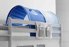 Tunnel pour lit à étage et lit mezzanine Bleu ciel-Bleu foncé