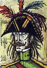 FRAMED CANVAS Art print  giclee RÉVOLUTIONNAIRE Bernard Buffet revolutionary
