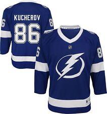 Tampa Bay Lightning Nikita Kucherov Youth Replica Jersey S/M