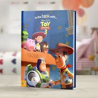 Personalised Children Book Disney Toy Story 3 Hardback Book In The Book Stories