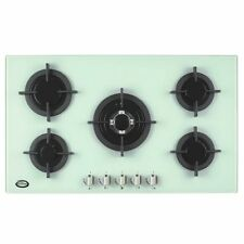 Graded White Powder Grey Bautechnic Agcg 9052WH 90cm Built-in Gas-on-Glass Hob