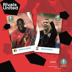 PANINI EURO 2020 TOURNAMENT EDITION - FIGURINE COCA COLA A SCELTA (C1 - C14)