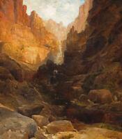 "Thomas Moran/'s /""The Grand Canyon of the Colorado 1908/""  36x24 new condition"