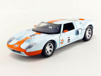 MOTOR MAX 79641 FORD GT Concept GULF livery diecast model car number 6 1:24th