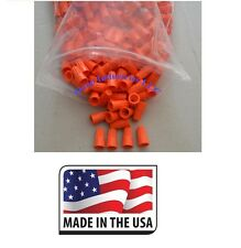 (100 pc) Orange Screw-On Nut Wire Connectors P3 Barrel UL Listed 22-14 AWG