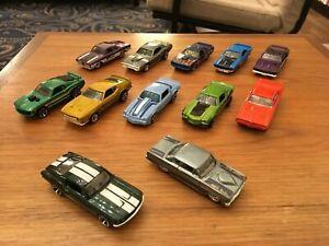 Hot Wheels Cars Job Lot incl 64 Ford Falcon Sprint, 1967 Mustang Fast & Furious