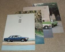 Mercedes 200 230 250 Series Brochure 1978-1979 W123