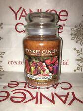 Christmas Morning Yankee Candle 623g 22oz Large Jar - Brand New Genuine